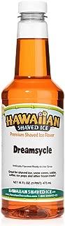 Hawaiian Shaved Ice Syrup, Dreamsycle, Pint