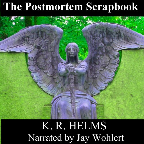 The Postmortem Scrapbook audiobook cover art