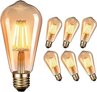 LED Edison Vintage Glühbirne, Massway Retro LED Edison Glühlampe E27 (4W / 220V)..