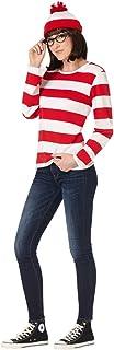 Spirit Halloween Adult Where's Waldo Costume - Wenda - Officially Licensed
