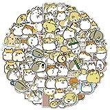 100PCS Hamster Stickers Japanese Sanrio Stickers Cute Animal Stickers Kawaii Laptop Stickers Vinyl Waterproof Stickers for Water Bottles Luggage Skateboard Decor