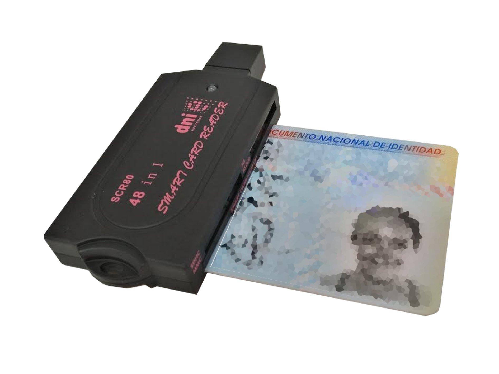 Lector DNI Electrónico, Tarjetas de Memoria y Tarjetas SIM Tacto Suave: Amazon.es: Electrónica