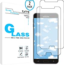 KATIN Galaxy J7 2018 Screen Protector - [2-Pack] Tempered Glass for Samsung Galaxy J7 Refine 2018/ J7 Star 2018/ J7 Crown 2018/ J7 Aura 2018/ J7 V (2nd Gen) 2018 with Lifetime Replacement Warranty
