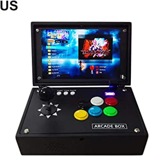 2297 Pandora's Box 3D Arcade Machine Game Console Rechargeable Portable 10-Inch LCD Screen Full HD Video Game 2 Players