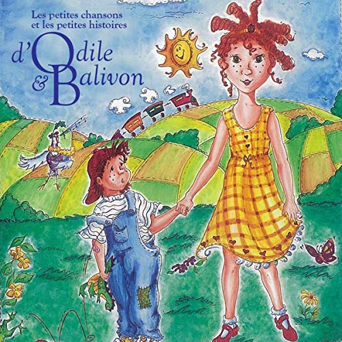 Couverture de Les petites chansons et les petites histoires d'Odile et Balivon: Le Coffret