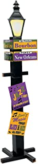 FX Large Cardboard Mardi Gras Party Directional Sign Decor