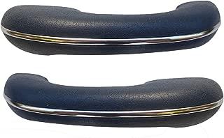 TMI VW BUG ARMRESTS, 58-67 BEETLE & GHIA, COLOR: TMI #18 BLUE, PAIR