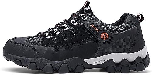 WQING Chaussures de randonnée Chaussures de Marche étanches Chaussures de de Trekking pour Hommes Chaussures de Sport de Plein air à Lacets  vente de sortie