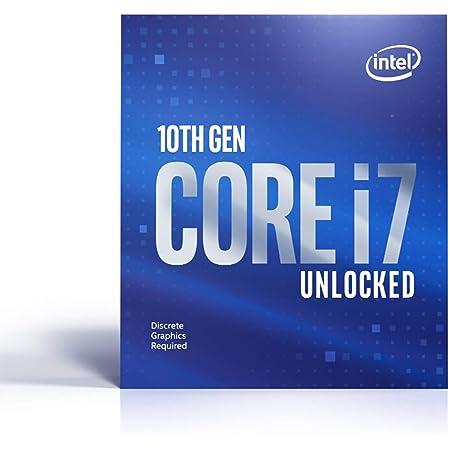 Intel Core i7-10700KF - Procesador (3,80 GHz; Casquillo LGA1200; Caja de 125 W)