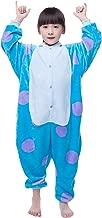 NEWCOSPLAY Halloween Unisex Animal Pyjamas Child Cosplay Costume Sullivan