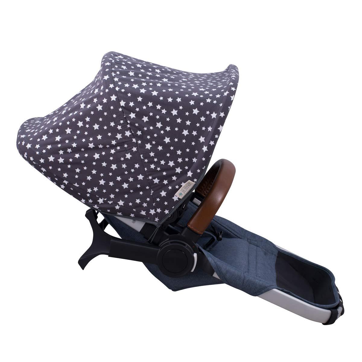 JANABEBE Hood Canopy Compatible with Bugaboo Donkey (Winter Sky)