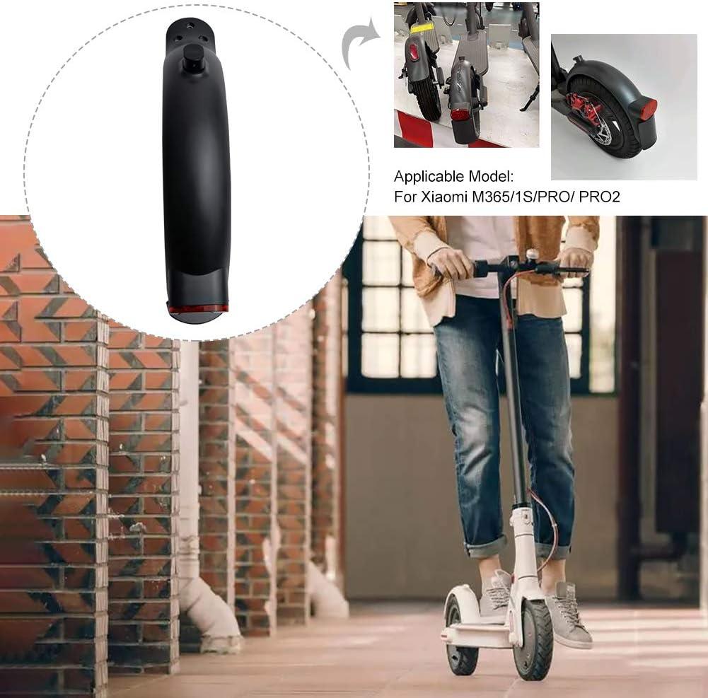accesorios de repuesto para patinete el/éctrico para MI M365 1S PRO PRO2 DASNTERED Accesorios de repuesto para scooter monopat/ín con luz trasera a prueba de polvo guardabarros trasero