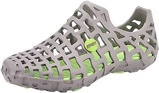 iYBUIA Classic Unisex Garden Clogs Shoes Sandals Slippers Couple Beach Sandal Flip Flops Shoes