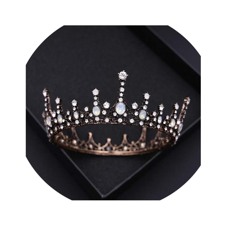 Bride Crown Wedding Hair Accessories Queen King Tiaras And Crowns Bridal Wedding Headdress Tiaras For Women