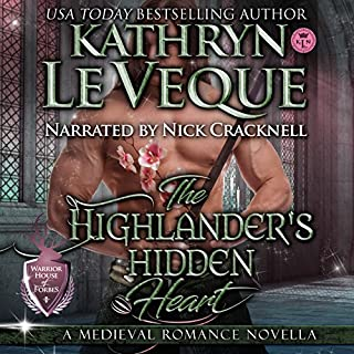 The Highlander's Hidden Heart                   By:                                                                                                                                 Kathryn Le Veque                               Narrated by:                                                                                                                                 Nick Cracknell                      Length: 2 hrs and 7 mins     1 rating     Overall 5.0