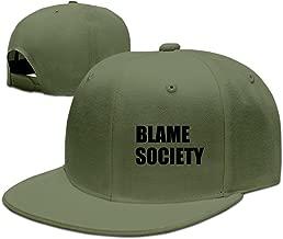 BLAME SOCIETY Hip Hop Flat Caps Natural