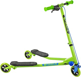 Yvolution Y Fliker Air A1 Swing Wiggle Scooter | Three Wheels Drifter for Boys and Girls Age 5 Years Old and Up