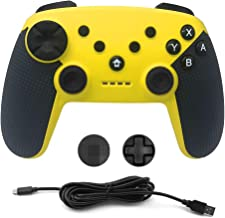 Wireless Controller for Nintendo Switch Console,Gyro Sixaxis Dual Shock Pro Gamepad Remote Jystickfor PS3