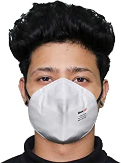 HACER Medic-S97 SITRA Approved Disposable Face Mask 5 Layer Particulate Respirator Mouth Cover for Men & Women (1 pc)