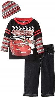 Disney Boys Cars 3 Piece Nylon Vest Set