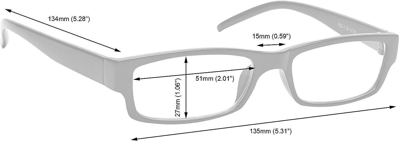 1,00-88 Gr The Reading Glasses Company Nero Marrone Blu Lettori Con Uv400 Lettore Sole Valore 4 Pacco Uomo Donna Rrrs32-1231