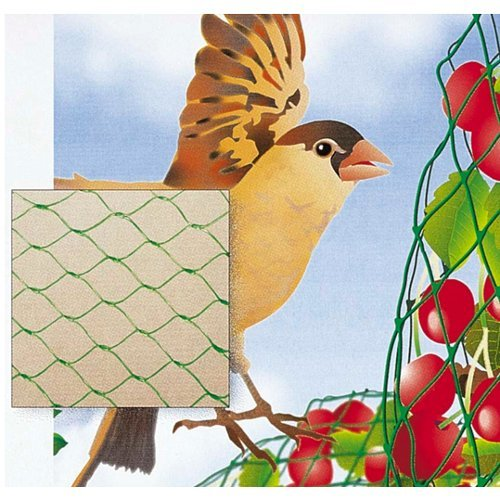 Verdemax 6732 2 x 10 m Rouleau de Filet de Protection Oiseaux