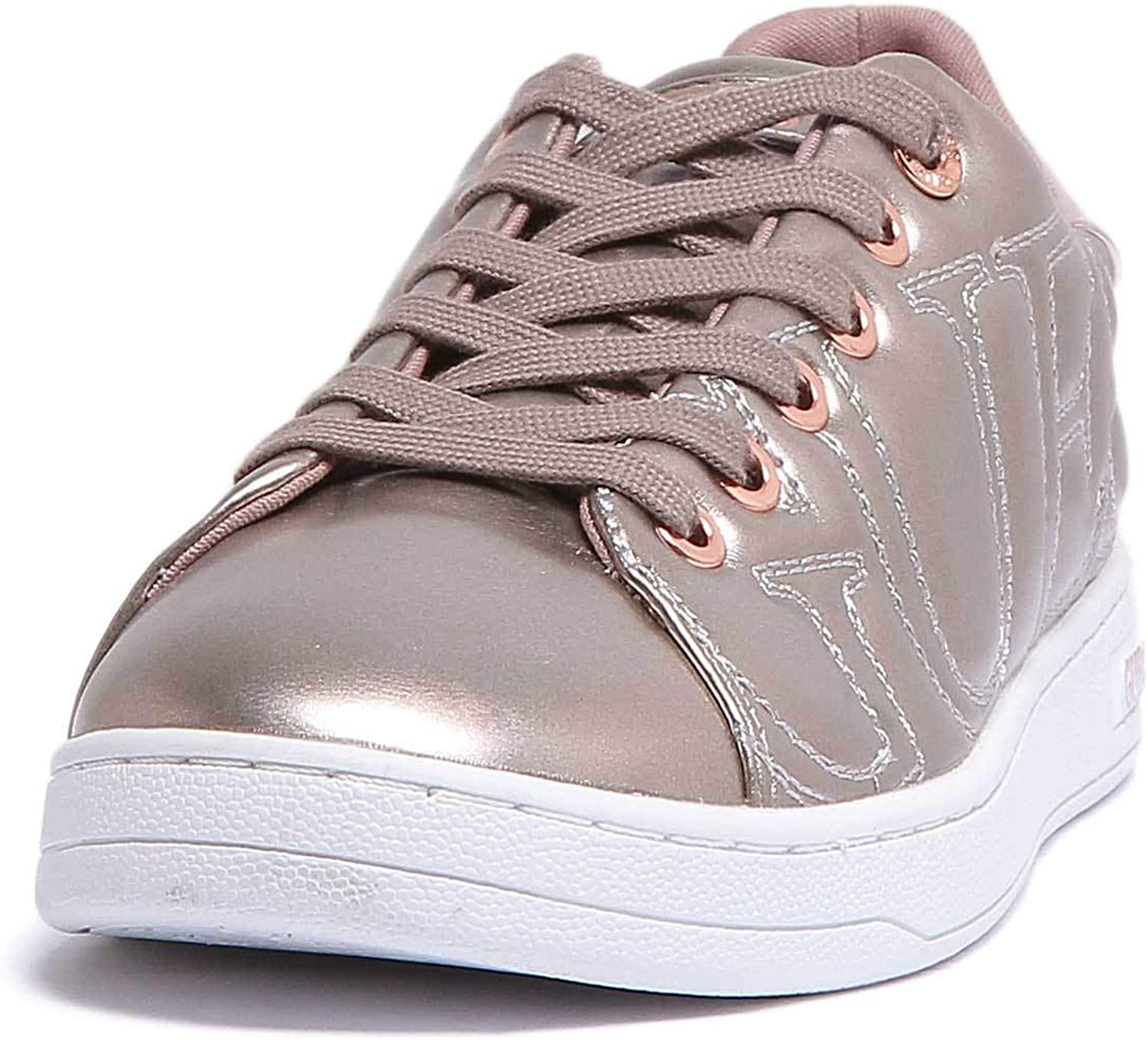 GUESS Cestin Trainers in pink gold