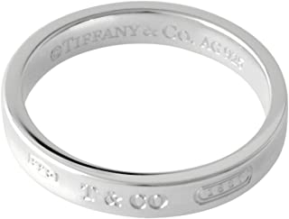 [蒂芙尼] TIFFANY 1837 窄版戒指 SS 纯银