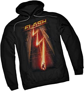 Down The Street - CW's The Flash TV Show Adult Hoodie Fleece Sweatshirt