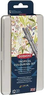 Derwent Tropical Pencil Gift Tag Set