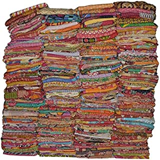 Vintage Handmade Kantha Quilts Indian Tribal Kantha Cotton Bed Cover Throw Assorted Patches Made Rally Reversible Bedspread Throw Old Sari Made Assorted Patches Cotton Blanket Pure Cotton Indian Gudri