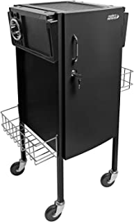 Jls-500 Metal Trolley Black By Modern Elements