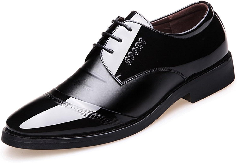 Giles Jones män Oxford skor, Point Toe Block Heel Heel Heel Lace Up Comfortable mode skor  säljer bra över hela världen