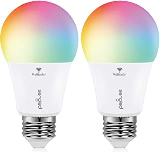 Sengled Smart Bulb, Color Changing Smart Bulbs Work with Alexa & Google Assistant, WiFi Light Bulbs No Hub Required A19 RG...