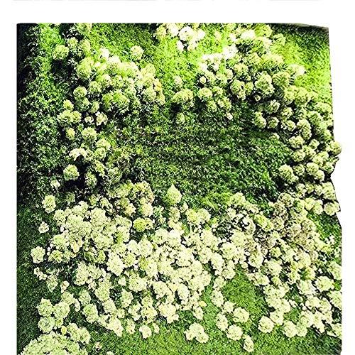 Bloemmuur LVZAIXI Tuin Hedge Tapijt Plastic Simulatie Gazon Planten Afscherming Hek Balkon Patio Outdoor Decor