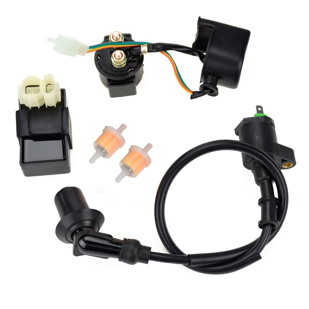 parts for go kart 150cc amazon com6pin ac cdi ignition coil relay fuel filters for tomberlin crossfire 150r spiderbox 150cc go karts