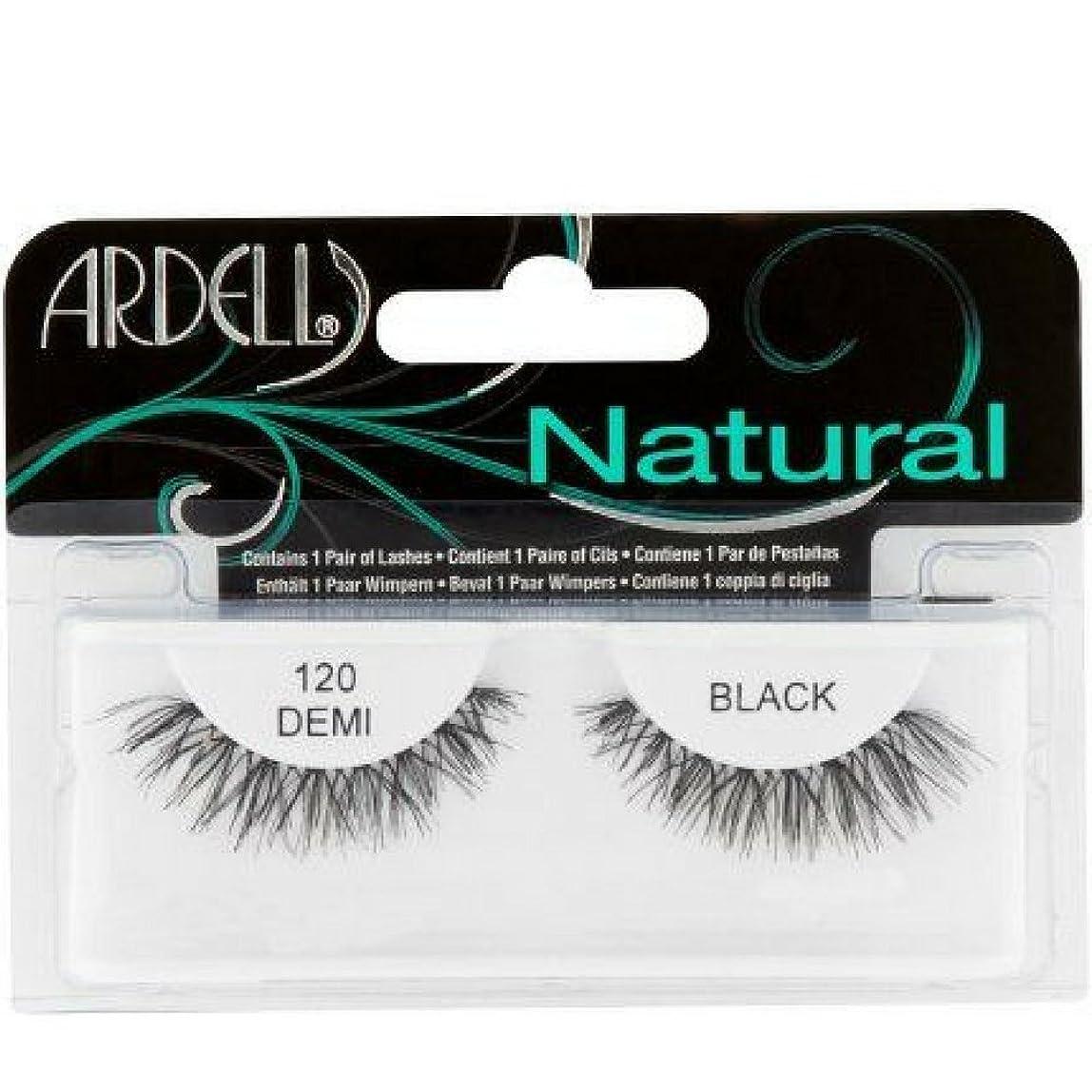先入観ペダル素敵なArdell ファッションまつげ自然ストリップラッシュ、ブラック[120] 1をEA(12パック) 12のパック ブラック