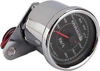 color doble Universal Yosoo odómetro velocímetro km luz LED/h para moto