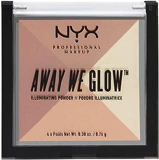 NYX Cosmetics Away We Glow Illuminating Powder Shimmer Thrill
