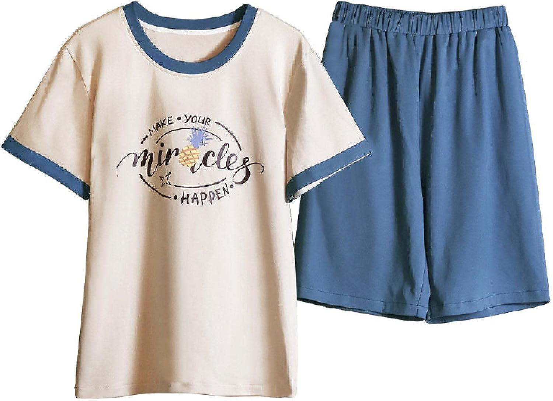 MWBLN Pajamas,Plus Size Male Pajama Set,Summer Shorts Pullover Sleepwear Plaid Bottoms,Man's Two Pieces,Men Nightwear. 3XLfor88-100kg AsShown