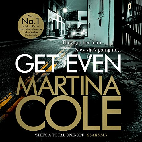 Get Even audiobook cover art