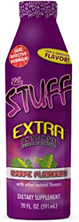 Detoxify The Stuff Extra – Grape Flavor – 20 oz | Professionally Formulated Intense Herbal Cleanse | Enhances Your Body's Natural Cleansing Processes