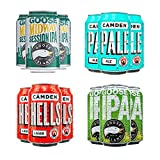 Craft Beer Party Pack, from Camden Town Brewery and Goose Island, 12 cans per pack (6x