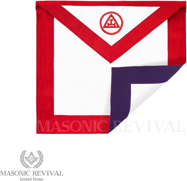 Masonic Revival - Reversible Royal Arch Council Member Apron (Lambskin)