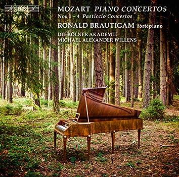 """Mozart: Piano Concertos Nos. 1-4 """"Pasticcio Concertos"""""""