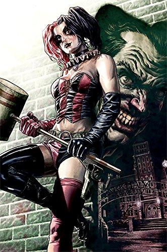 61afXitZUML Harley Quinn and Batman Posters