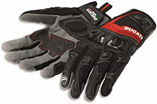 Ducati Leather Summer 2 Riding Gloves Black by Spidi Large