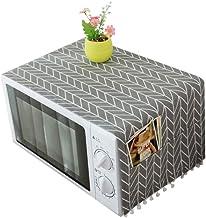 AMOYER Suministros 1CP Campana de Cocina del Horno microondas Cubierta de Polvo con Bolsa de Almacenamiento de Accesorios de Cocina decoración del hogar