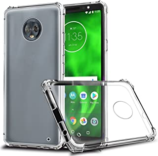 Moto G6 Plus Case, Zeking Ultra Slim Thin Anti-Scratch TPU Rubber Soft Skin Silicone Premium Protective Case Cover for Motorola Moto G6 Plus (Transparent)