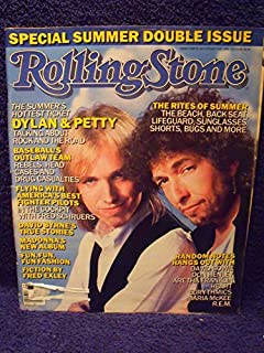 Rolling Stone Magazine July 17/ July 31, 1986, Issue 478/479 Bob Dylan/ Tom Petty Cover